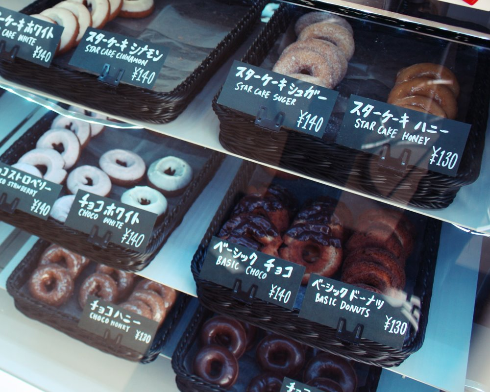 Futenma Sweets Olie Cafe display case
